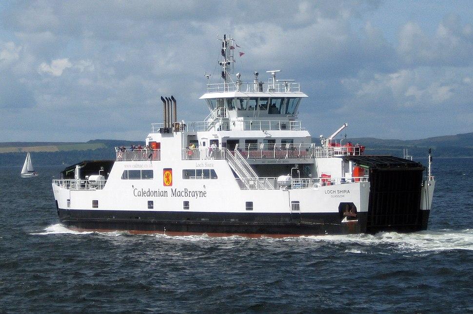 MV Loch Shira 2Aug09 stern