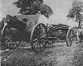 M 102 14 canons serbes tractés par boeufs.jpg