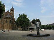 Maastricht 2008 Vrijthof Saint Servatius Basilica