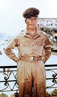 Douglas MacArthur U.S. Army general of the army, field marshal of the Army of the Philippines