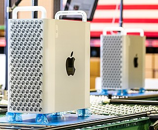 Mac Pro Line of workstation and server computers for professionals