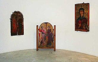 Byzantine Museum of Kastoria - Image: Macedonian Museums 15 Byzantino Kastorias 71