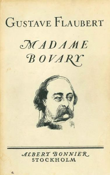 Madame Bovary title page