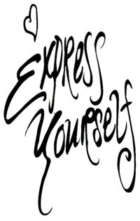 Madonna - Express Yourself logo.png