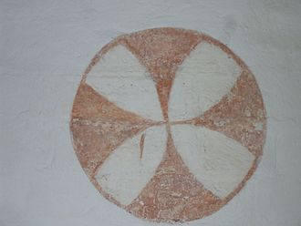 Magleby Church - The inside circle in the church
