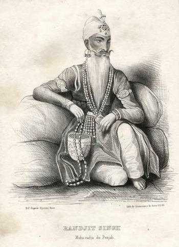 Mahraja Ranjeet singh the king of Punjab