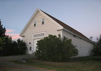 Page Farm & Home Museum - Image: Main Building Page Farm and Home Museum Orono Maine
