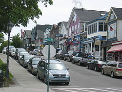 Main Street in Bar Harbor (2008)