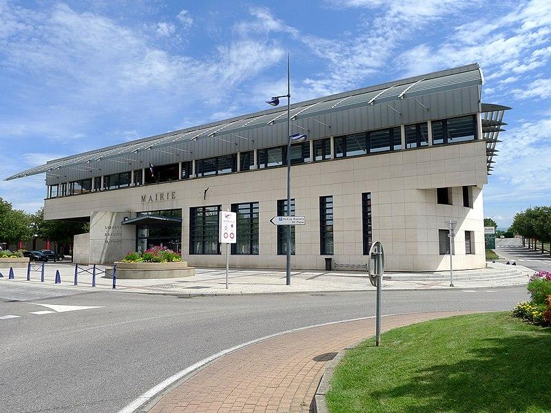 Town hall of Portes lès Valence - Drôme - France