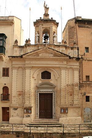 Church of St Lucy, Valletta - Image: Malta Valletta Triq il Lvant St. Lucy 01 ies