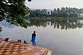 Man at Chitravathi River, Puttaparthi, Andhra Pradesh, India.jpg
