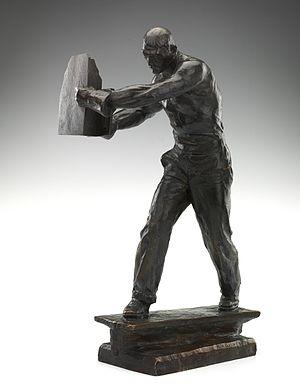 Max Kalish - Image: Man of Steel by Max Kalish 1933 Smithsonian
