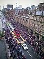 Man utd 2011 parade deansgate roof.jpg