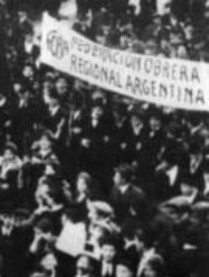 Argentine Regional Workers' Federation - Demonstration of the FORA around 1915