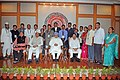 Manmohan Singh with the Awardee Teachers ahead of Teachers' Day, in New Delhi. The Union Minister for Human Resource Development, Dr. M.M. Pallam Raju and the Ministers of State for Human Resource Development.jpg