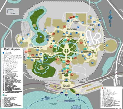 Walt Disney World Magic Kingdom Travel Guide At Wikivoyage
