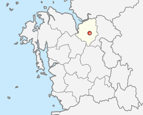 Location of Asan
