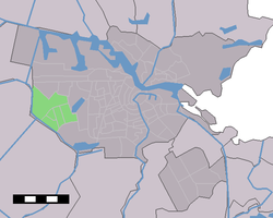 Location of former borough of Osdorp
