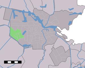Osdorp - Image: Map NL Amsterdam Stadsdeel Osdorp