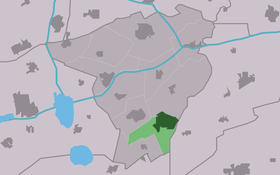Location of Surhuisterveen