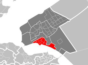 Almere Haven - Image: Map NL Almere Haven
