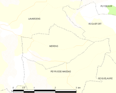 Map commune FR insee code 32251.png
