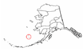 Map of Alaska highlighting Pribilof Islands.png