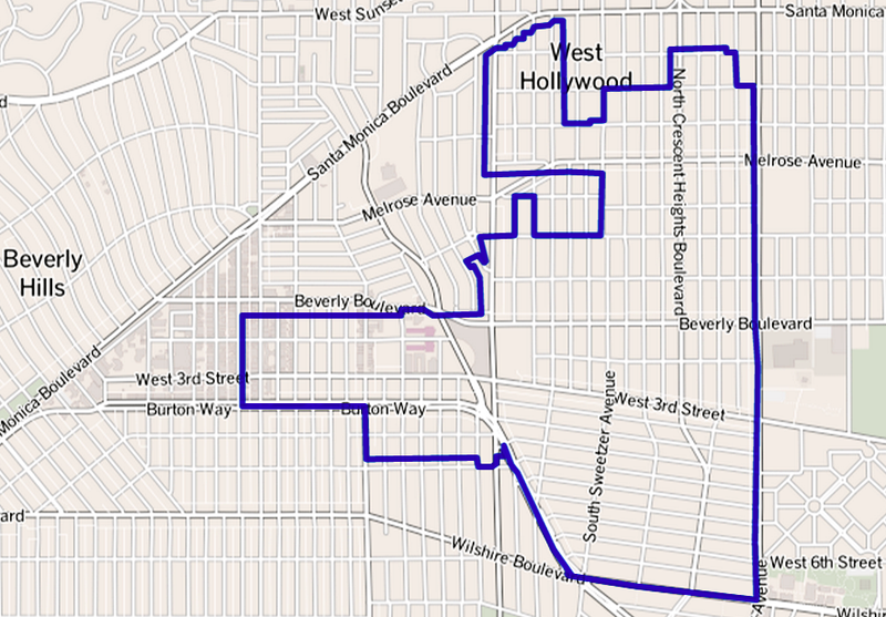 File:Map of Beverly Grove, Los Angeles, California.png