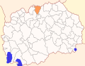 Map of Lipkovo Municipality.svg
