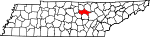 State map highlighting Putnam County