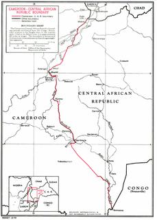 Cameroon–Central African Republic border international border