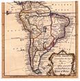Mapa del América del Sur en 1765. Se ve un grande Perú-Bolivia, un grande Py.png