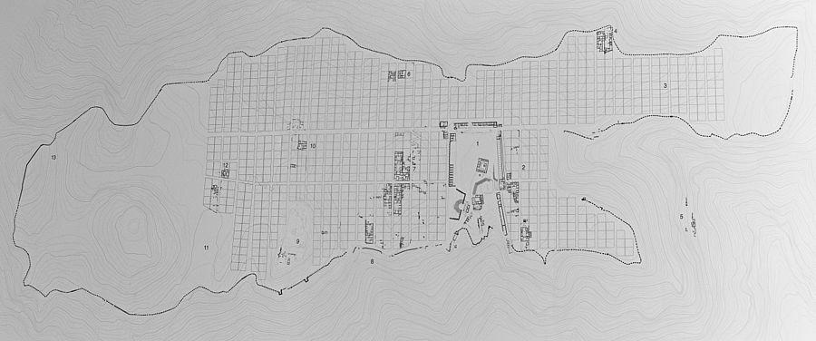 Morgantina wikipedia for Planimetria casa 1200 piedi quadrati