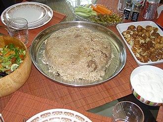 Maqluba - Image: Maqloubeh