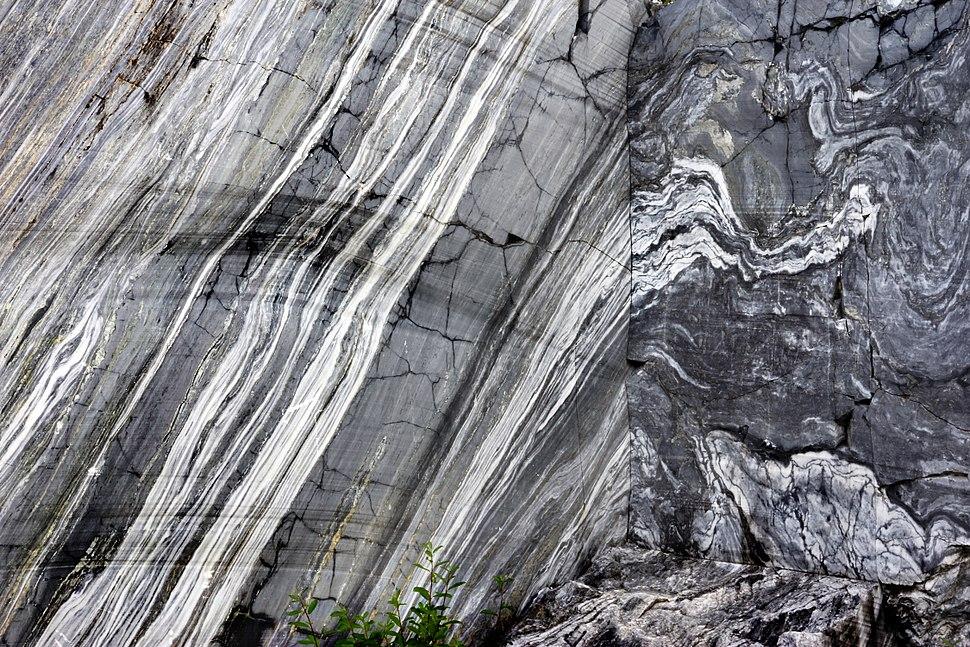 Marble wall of Ruskeala