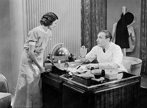 By Appointment Only (1933 film) - Marceline Day and Lew Cody in a scene from the film.