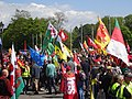 March for Welsh Independence arranged by AUOB Cymru First national march; Wales, Europe 05.jpg