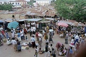 Kpalimé - Kpalimé market