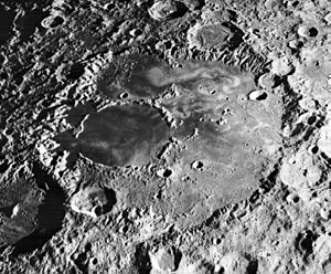 Lunar swirls - Mare Ingenii