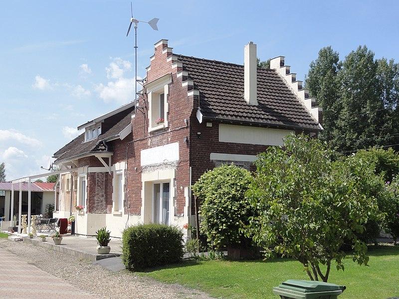 Marest-Dampcourt (Aisne) ancienne gare Marest Quierzy