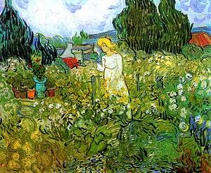 Superieur Marguerite Gachet In The Garden