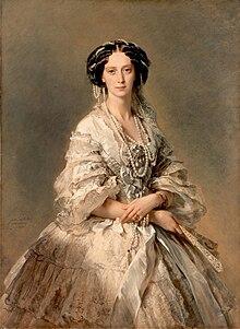 Maria Alexandrovna by Winterhalter (1857, Hermitage) 2.jpg