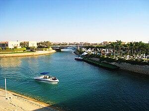 Marina, Egypt - Marina's lake in Summer