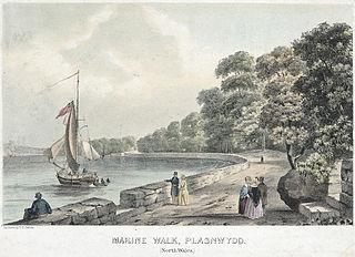 Marine walk, Plasnewydd: (north Wales)