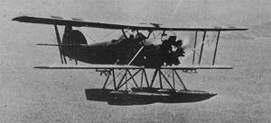 Marinens Flyvebaatfabrikk M.F.10 - An M.F.10 airborne.