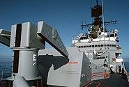 USS Worden CG-18 Mark 10 launcher