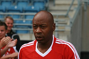 Mark Walters - Walters playing in a charity match in 2008.