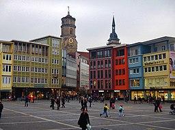 Marktplatz in Stuttgart