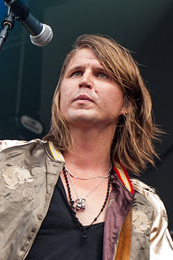 Markus Krunegård, Way Out West festival, Gothenburg, Sweden, 2014.jpg