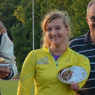 Marlene van Gansewinkel Dutch Paralympic athlete